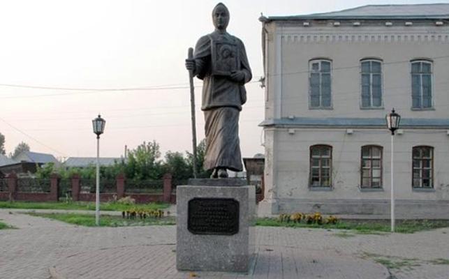 Памятник Прасковье Луполовой