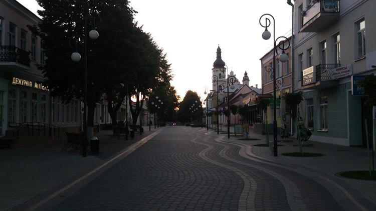 Историческая застройка ул. Ленина