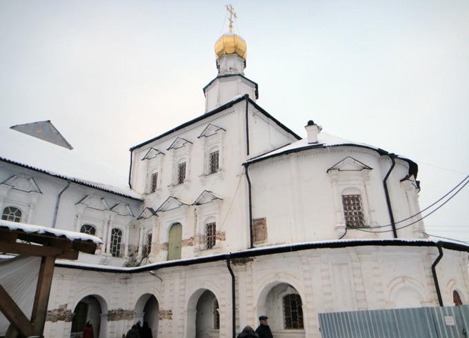 Церковь Рождества Христова Новоиерусалимского монастыря