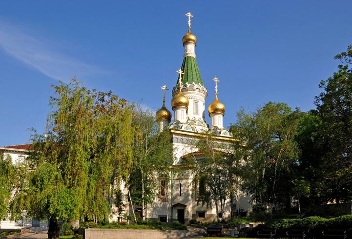 Русская церковь святого Николая