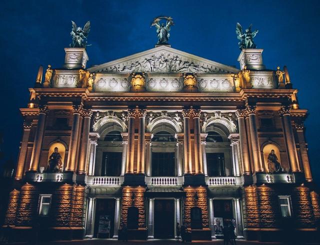 Львовский национальный академический театр оперы и балета имени С. Крушельницкой