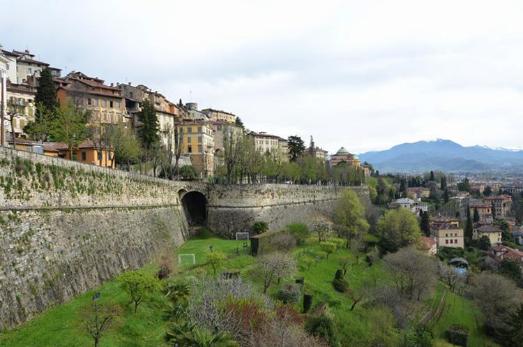Венецианские стены в Бергамо