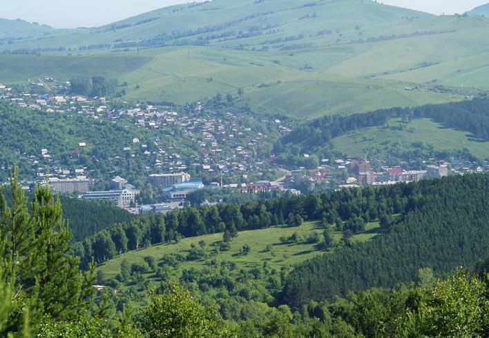 Гора Комсомольская