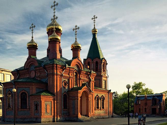 Храм Святителя Иннокентия Иркутского