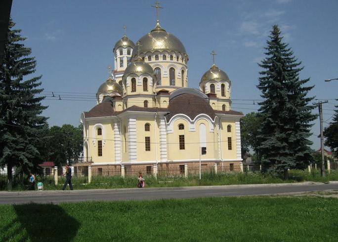 Главный храм Нальчика