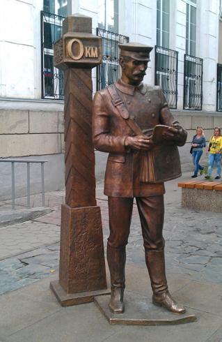Памятник «Нулевой километр»