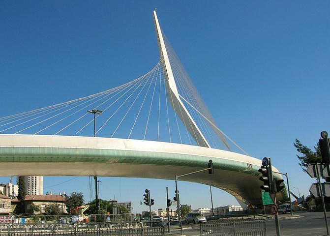Струнный мост в Иерусалиме