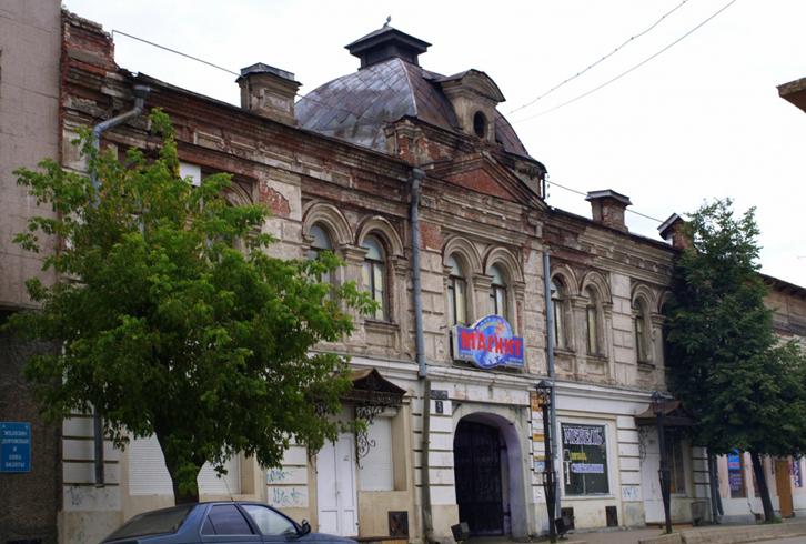 Дом купца В. Д. Собцова