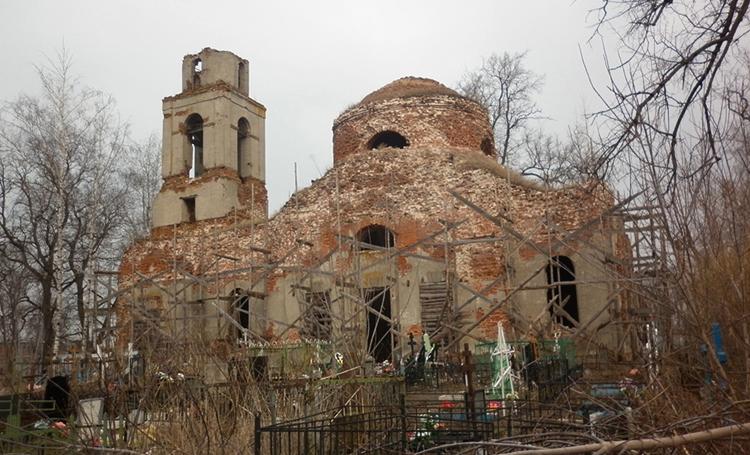 Успенский кладбищенский храм