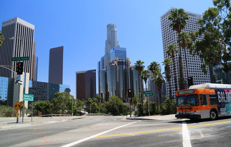 Деловой центр Лос-Анджелеса