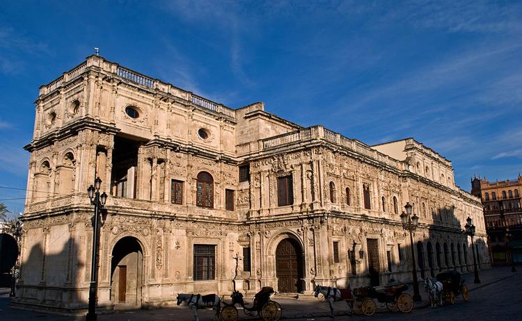 Здание Мэрии в Севилье