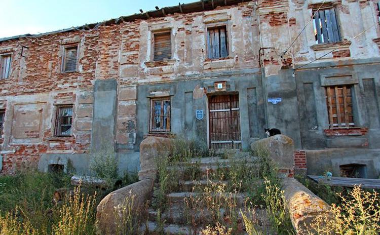 Руины монастыря базилиан