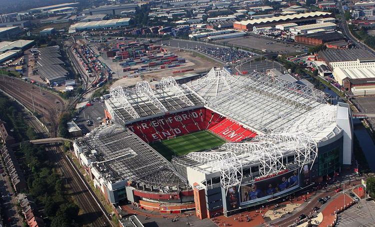 Стадион команды «Манчестер Юнайтед