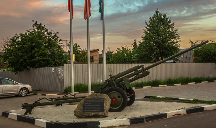 Советская противотанковая пушка ЗИС-2