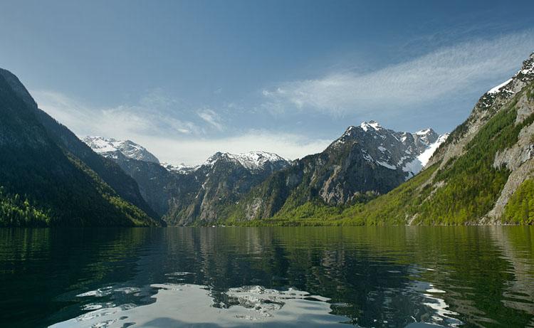 Королевское озеро Кёнигзее