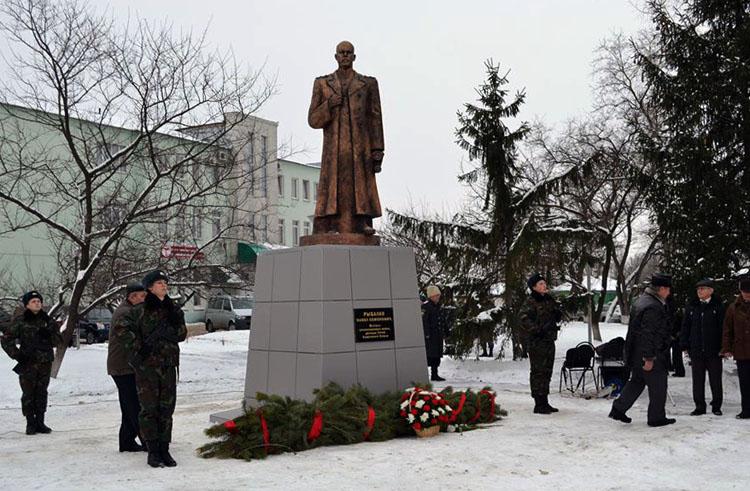 Памятник маршалу П. С. Рыбалко