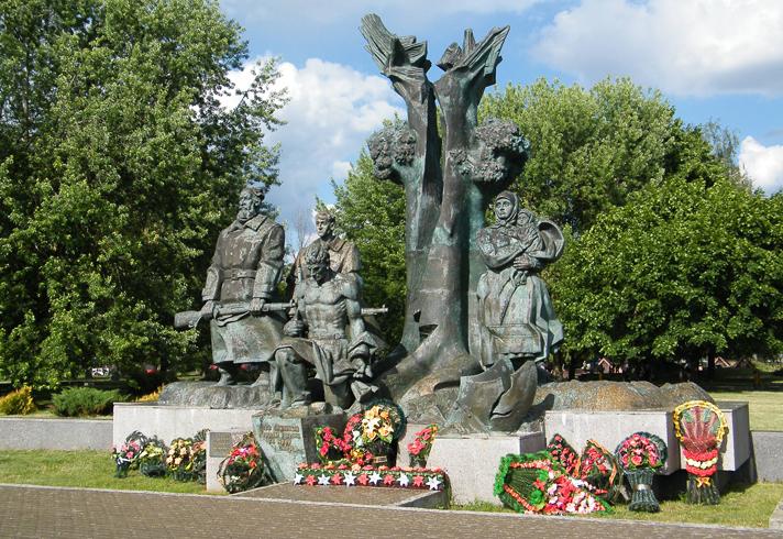 Памятник партизанам Полесья