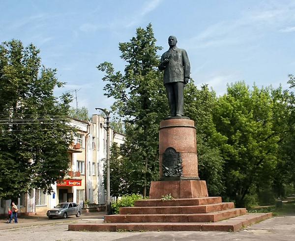 Памятник В. А. Дегтяреву в Коврове