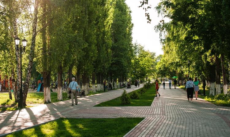 Парк «Юбилейный» в Россоши