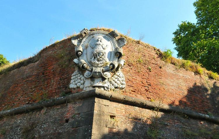 Крепостные стены Пизы