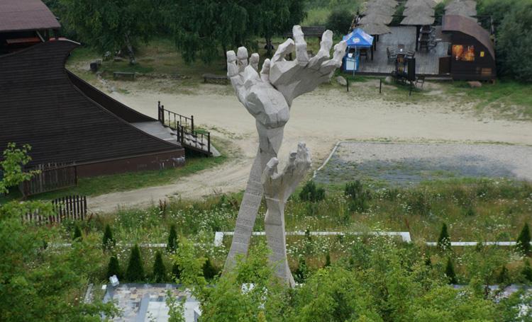 Памятник у Шахты Анна