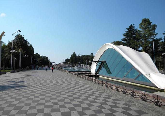 Приморский парк в Батуми