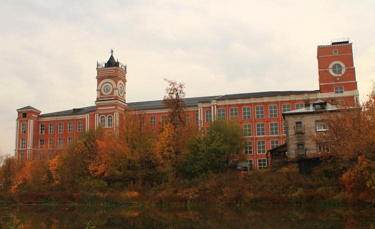 Здания бывшей фабрики Хлудовых