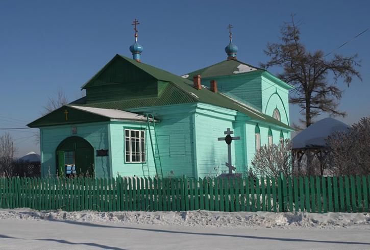Церковь Рождества Пресвятой Богородицы в Чусовом
