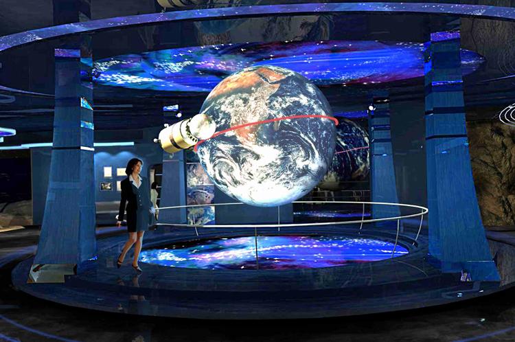 Внутри музея первого полета