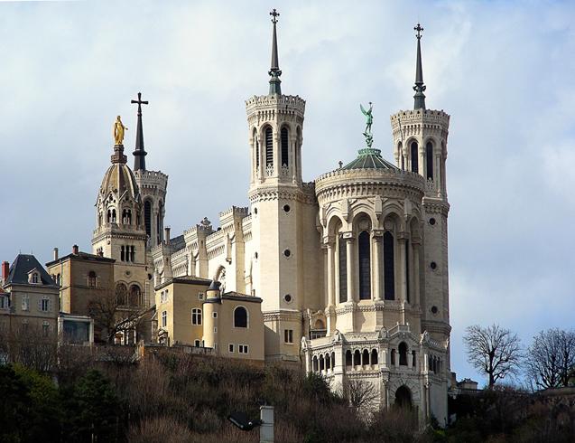 Базилика Нотр-Дам де Фурвьер