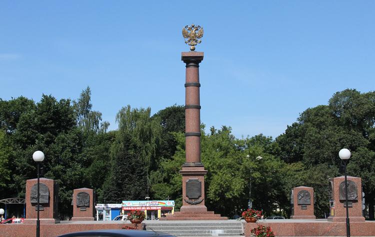 Стела «Псков - город воинской славы»
