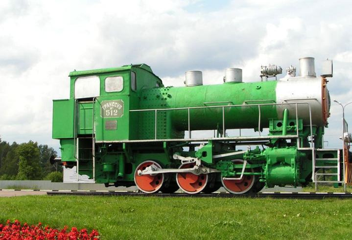 Танк - паровоз 9П - 742
