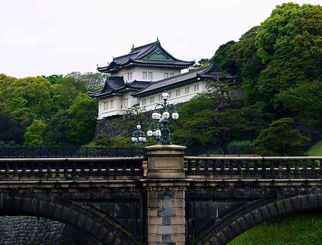 Дворец императора Японии