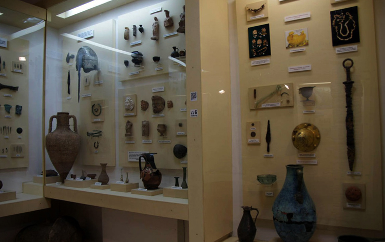 В музее истории