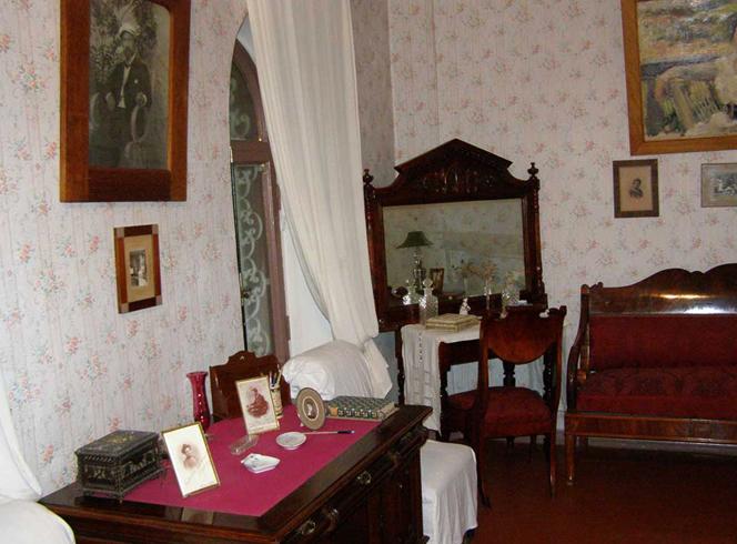 Внутри музея Чехова