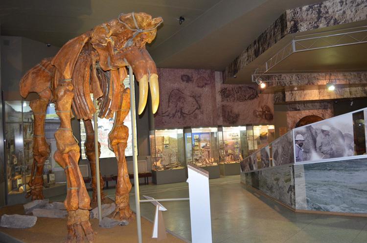 Внутри музея-заповедника