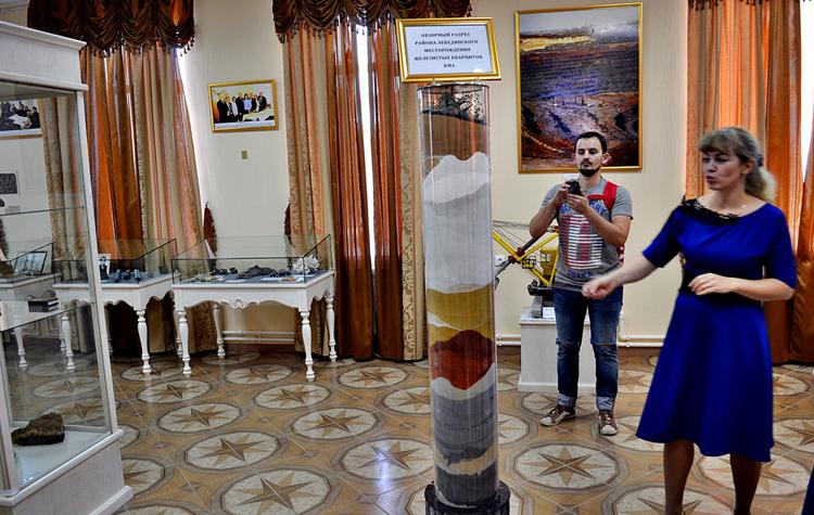 Внутри музея КМА