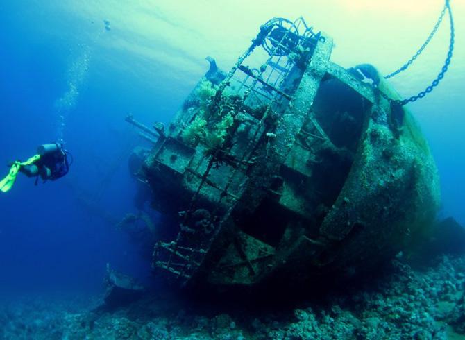 Затонувшее судно Cedar Pride