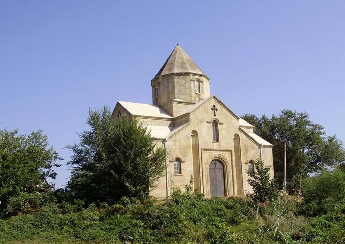 Албанская церковь в Нюгди