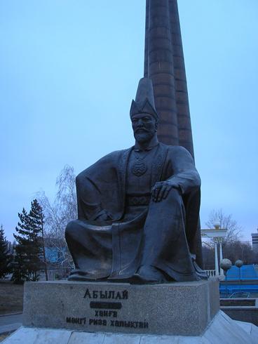 Памятник Абылай-хану