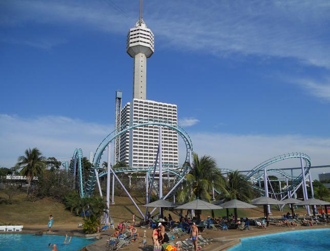 Башня отеля Паттайя Парк