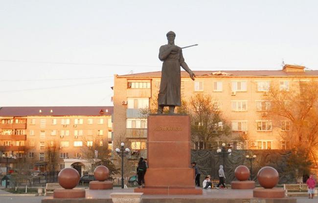 Памятник Курмангазы Сагырбайулы