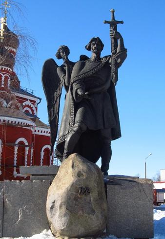 Памятник князю Борису