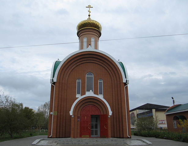 Храм-часовная Сергия Радонежского