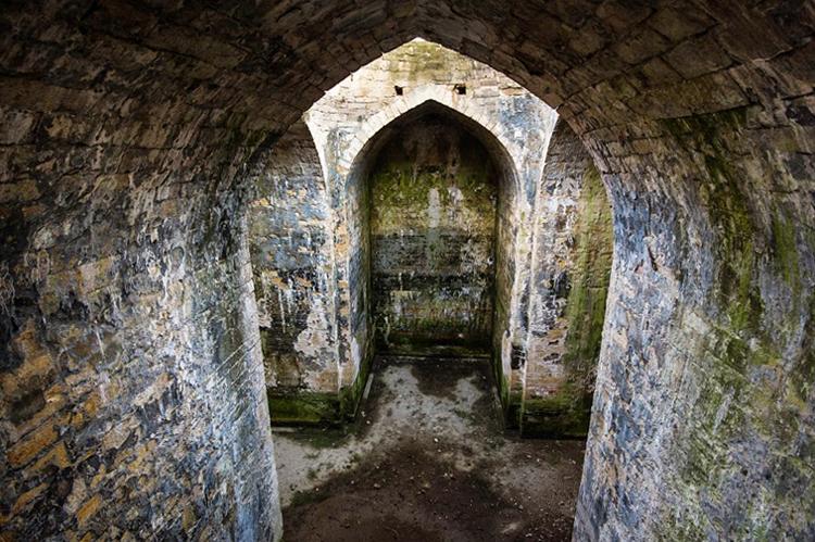 Руины древнейшего христианского храма