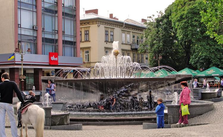 Фонтан на Вечевой площади