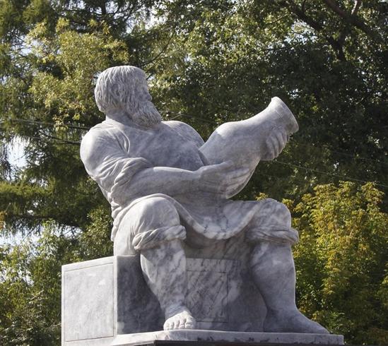 Памятник гончару