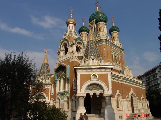 Николаевский собор в Ницце