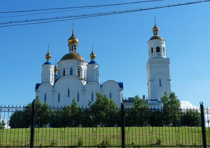 Чебаркульская церковь Преображения Господня