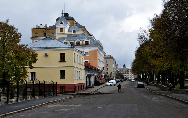 Улица Кафедральная